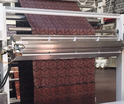 The TexCoat G4 installations at Adoksan is a 2000-mm-wide-dual-side application (c) 2019 Baldwin