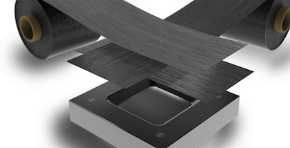 Films and sheets made from Maezio™ continuous fiber-reinforced thermoplastic composite (CFRTP) from Covestro can be combined in a very variable way, giving designers completely new creative freedom (c) 2018 Covestro