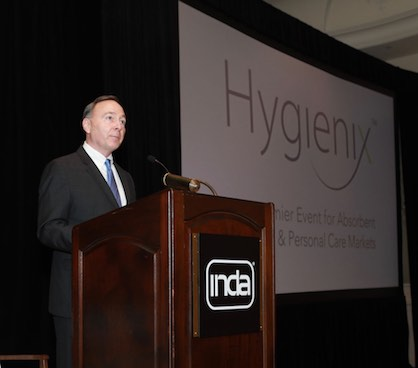 Environmental sustainability of absorbent hygiene and personal care products highlight Hygienix™ Nov. 11-14 conference in Houston, Texas (c) 2019 INDA