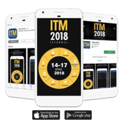 The new mobile app for ITM 2018 (c) ITM