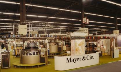 In 1987, ITMA opened on 13 October in Paris. It marked the sales launch of a technology that to this day is second to none in terms of productivity, yarn care and energy efficiency (c) 2017 Mayer&Cie.