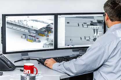The Oerlikon Manmade Fibers segment experts can also be virtually 'on site' during the coronavirus pandemic by means of remote access (c) 2020 Oerlikon