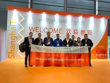 VIP Delegation from Indonesia (c) 2019 ShanghaiTex