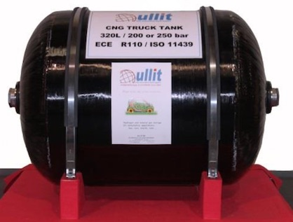 Ullit's new composite tank for trucks (c) 2019 Ullit