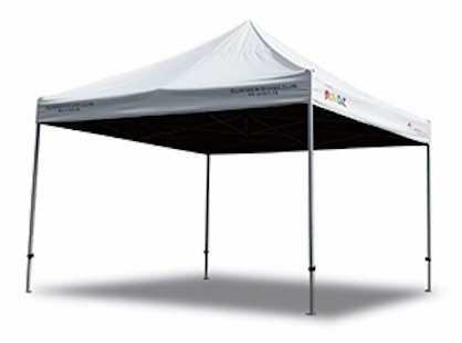 Kantantent canopy shelters incorporating SUMMER SHIELD™ (c) 2019 TORAY