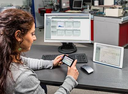 With T-Data, the system data can be accessed at any time, even via tablet or Smartphone.
