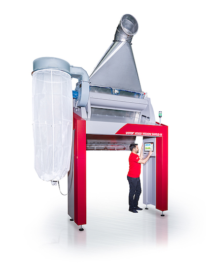 USTER® JOSSI VISION SHIELD N – contamination sorter for the nonwovens industry (c) 2020 USTER