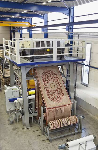 These high density handlook carpets are all woven on the HCiX2 Handlook Carpet innovator weaving machine with 3 rapier technology, providing 50% more ...
