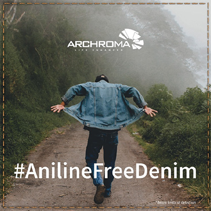 New aniline-free* Denisol® Pure Indigo 30. (Photo: Archroma)