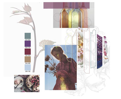 2019-2020 Autumn-Winter trends by Studio Annflor Sangan and Color Atlas by Archroma®. (Photo: Archroma)