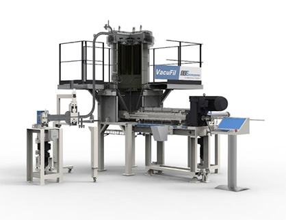 Caption: Visco+ filter components – the heart of the BB Engineering's VacuFil recycling system © 2020 BB Engineering GmbH