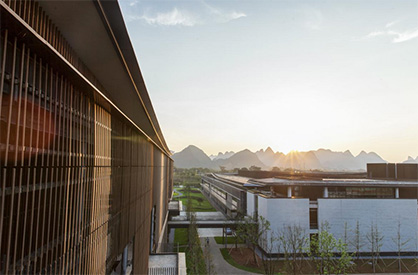 Set in the scenic landscape of Guilin, China, Integral is Esquel's Sustainable Development Garden that reflects the company's belief in sustainable economic development. © 2020 ESQUEL Group