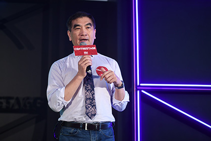 Felix Chung, Chairman of the Fashion Summit (HK) 2019 Steering Committee, at the CENTRESTAGE media preview (c) 2019 HKTDC