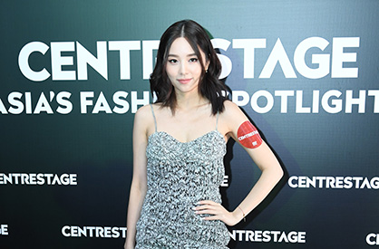 Singer Heidi Lee shares her fashion tips at the event (c) 2019 HKTDC