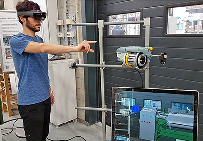 Mixed reality learning environment for weaving process (c) 2019 ITA
