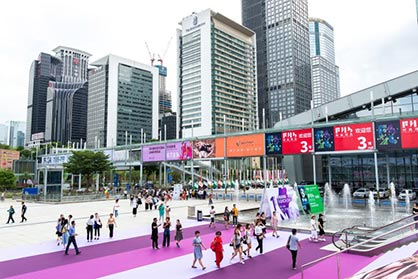 Location is key: Intertextile Pavilion Shenzhen is in China's fashion capital (c) 2019 Messe Frankfurt