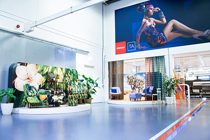 As FESPA 2021 will take place 'on home soil' for Mimaki Europe, visitors will have the unique opportunity to visit the company's Amsterdam Experience Centre and tour the entire 3D and textile portfolio. © 2021 Mimaki