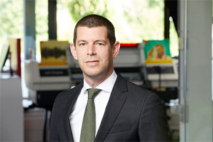 Arjen Evertse has been appointed to the role of General Manager Sales, EMEA