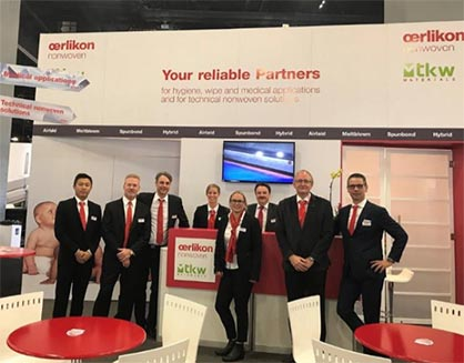 Our Oerlikon team at the Idea in Miami 2019. (c) 2019 Oerlikon