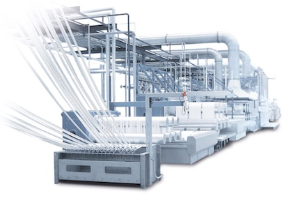 Oerlikon Neumag staple fiber plants stand for highest product quality and absolute reliability (c) 2020 Oerlikon