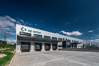 SGL Carbon's new logistics center  (c) 2019 SGL Carbon