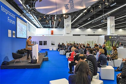 Texprocess Forum (c) 2019 Messe Frankfurt