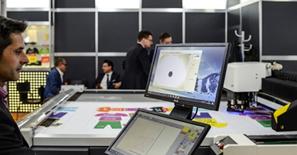 Pic: Bespoke results: Laser cutter for precision work / Source: Messe Frankfurt Exhibition GmbH