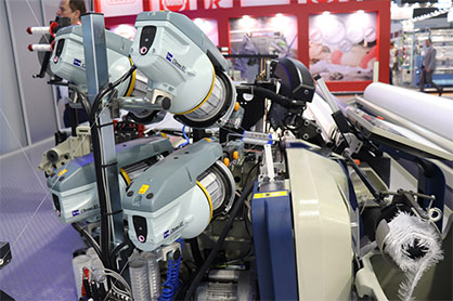 Vandewiele Sweden AB is a trusted market leader in the field of weft yarn feeding and tension control units for weaving looms. © 2021 TMAS