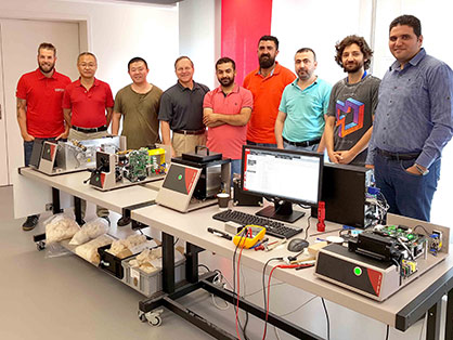 Pic: International USTER Service Training on USTER® low volume instruments (LVI) at Uster, Switzerland (c) 2017 Uster