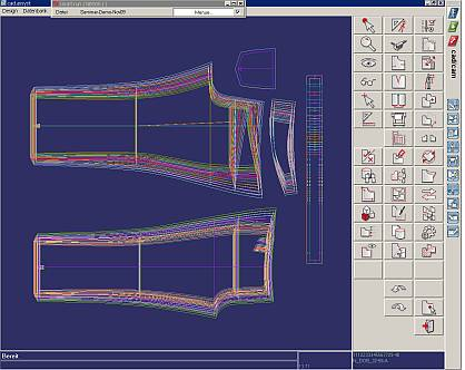 Texdata international cerruti opts for the cad system by Cad system