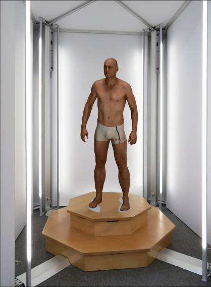 VITUS bodyscan will be shown (c) 2017 Human Solutions