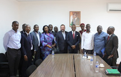 ICAC Executive Director Kai Hughes (centre) and the Organising Committee are preparing for the 77th Plenary Meeting, to be held 02-07 December, 2018, in Abidjan, Côte d'Ivoire (c) 2018 ICAC