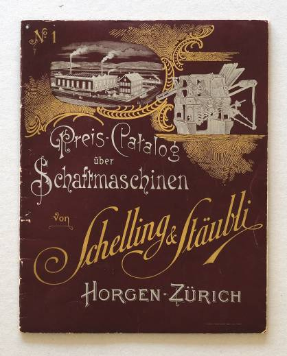 Pic: A Stäubli historic brochure cover