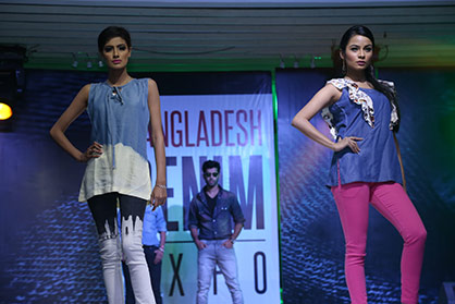 Fashion show (c) 2017 Bangladesh Denim Expo