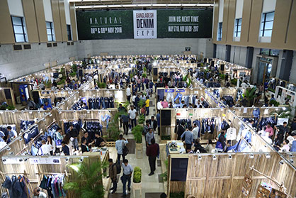 Hall view (c) 2017 Bangladesh Denim Expo