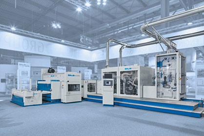 Pic: DILO Compact Line for Needling Carbon Fibres (c) 2017 Dilo
