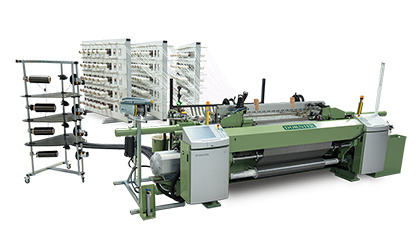 Carbon, glass, aramide and basalt: P1 roving weaving machines from DORNIER have woven semi-finished fibers for composites from high-performance  bers for over 40 years (c) 2018 Lindauer DORNIER