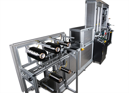 Short cycle times, lower manufacturing costs: With the tape production line from DORNIER, economical high-volume tape production is possible (c) 2018 Lindauer DORNIER
