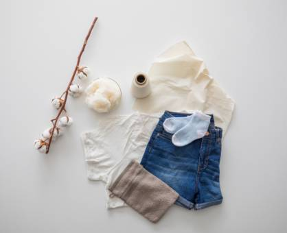 Consistent traceability of organic cotton from seed to end product. © Hohenstein Group