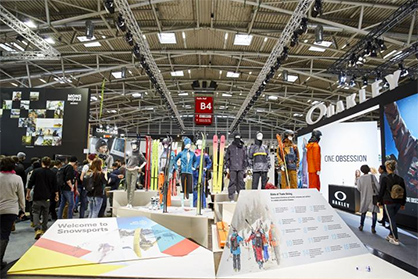 ISPO Munich: The expanded hall concept was well-received. / Image credit: ISPO