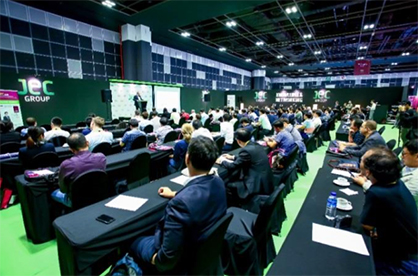 Pic: 3 full days of conferences at JEC Asia 2017 (c) 2017 JEC