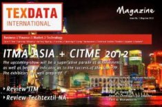 The cover of issue 5/6 of the TexData Magazine