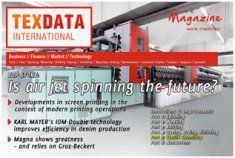 The cover of issue 9/10 of the TexData Magazine